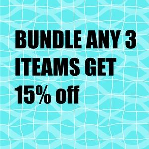 Other - BUNDLE FOR 15% OFF